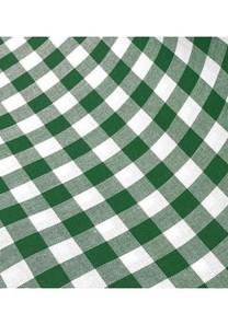 Mantelería vichy verde
