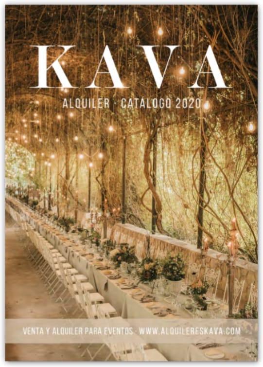 Descarga nuestro catálogo de alquiler de material para bodas y eventos