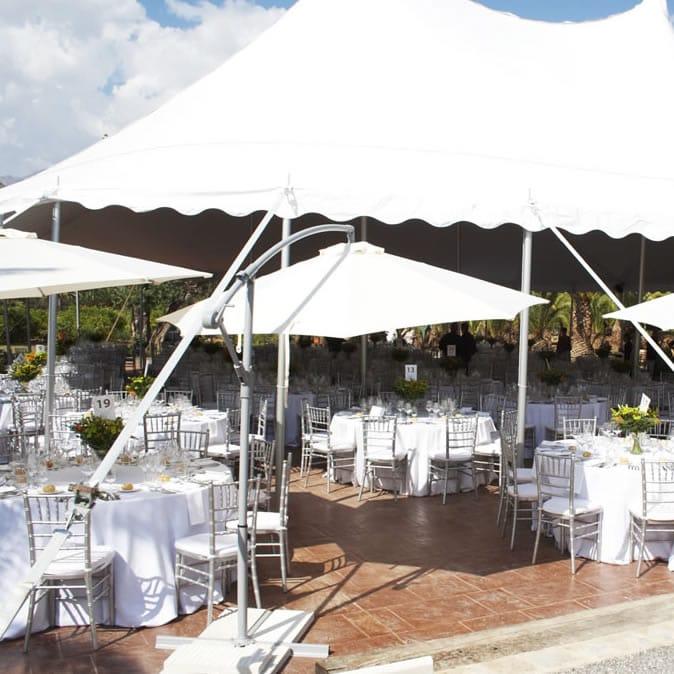 Alquiler de carpas para bodas y eventos