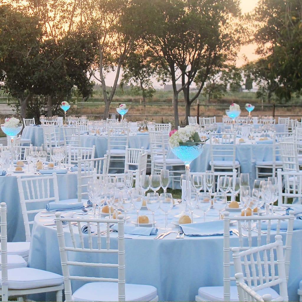 Alquiler manterleria para bodas y eventos